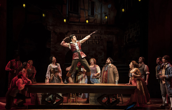 Photo Flash: BEAUTY AND THE BEAST Enchants At Paramount Theatre
