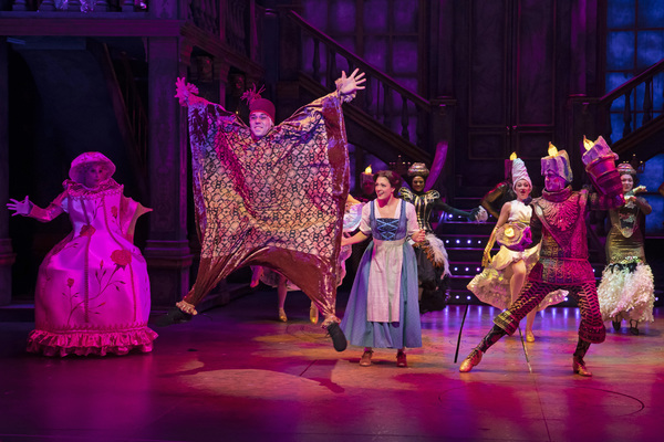 Beth Stafford Laird and the Cast of Beauty and the Beast