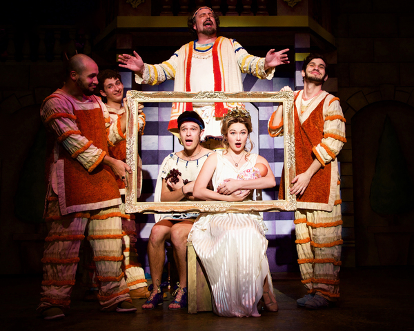 First Look at A FUNNY THING HAPPENED ON THE WAY TO THE FORUM at The Kravis Center