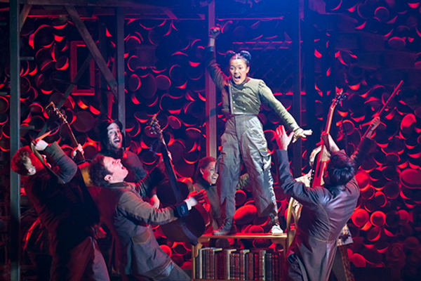Dorcas Leung (Despereaux) with (l to r) Matt Nuernberger (Botticelli), Ben Ferguson ( Photo