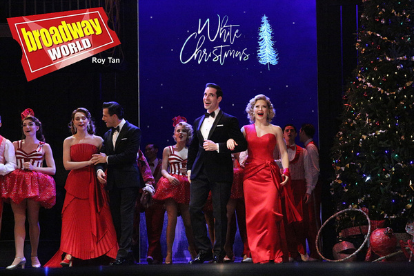 Photo Flash: First Look at WHITE CHRISTMAS at Dominion Theatre