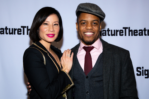 Lucy Liu, Jon Michael Hill Photo