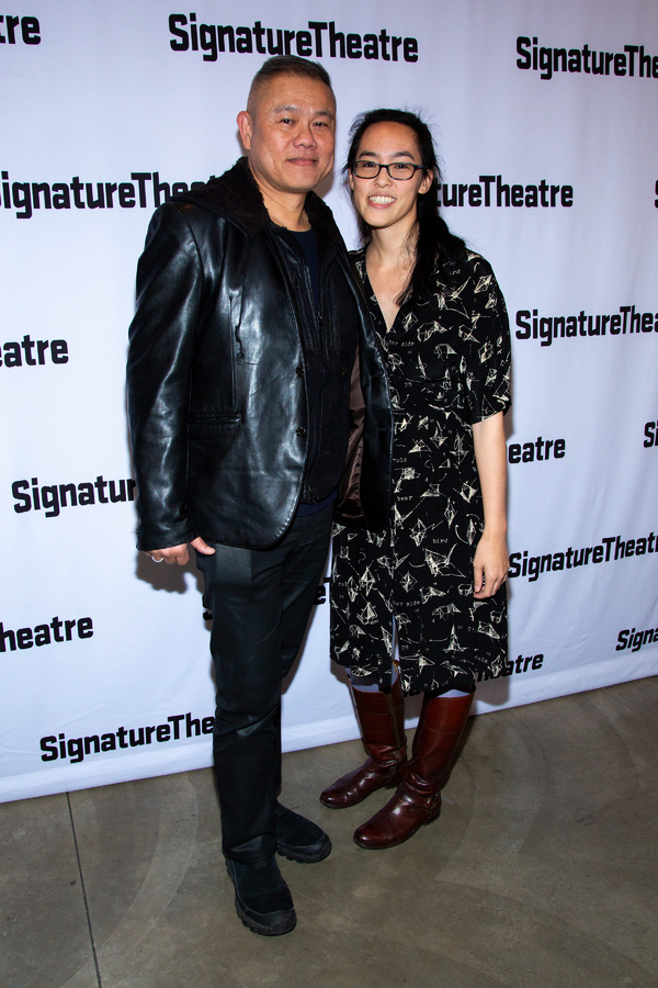 Photo Coverage: Signature Theatre Celebrates Opening Night of THE YOUNG MAN FROM ATLANTA