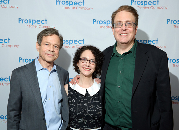 Alan Lightman, Joanne Lessner, and Joshua Rosenblum Photo