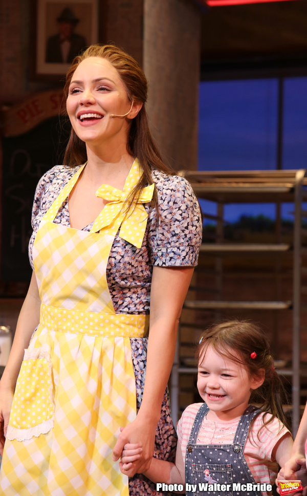 Photo Coverage: Katharine McPhee Opens Up the Diner One Last Time in WAITRESS on Broadway