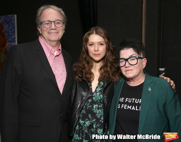 Douglas Aibel, Rebeca Robles and Lea Delaria Photo