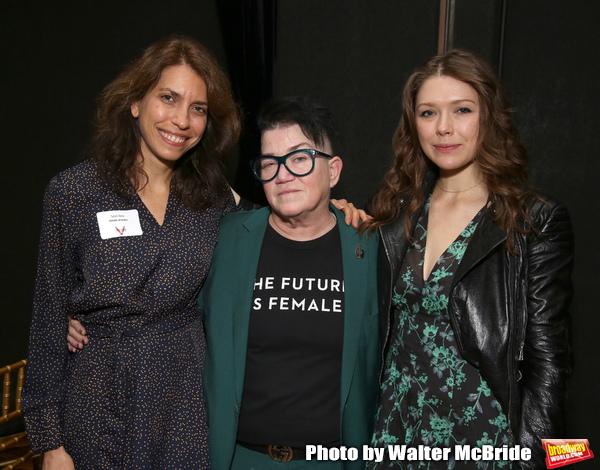 Sarah Stern, Lea DeLaria and Rebeca Robles Photo