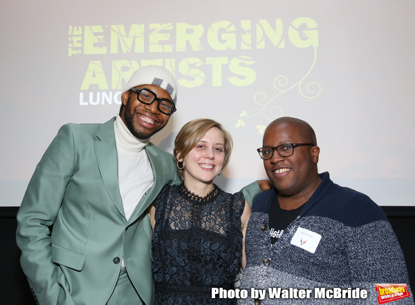 Jeremy O. Harris, Kate Tarker and Michael R. Jackson Photo
