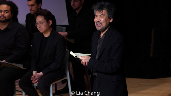 Photo Flash: Asia Society And The Santa Fe Opera Present David Henry Hwang And Huang Ruo's M. BUTTERFLY Opera Working Rehearsal