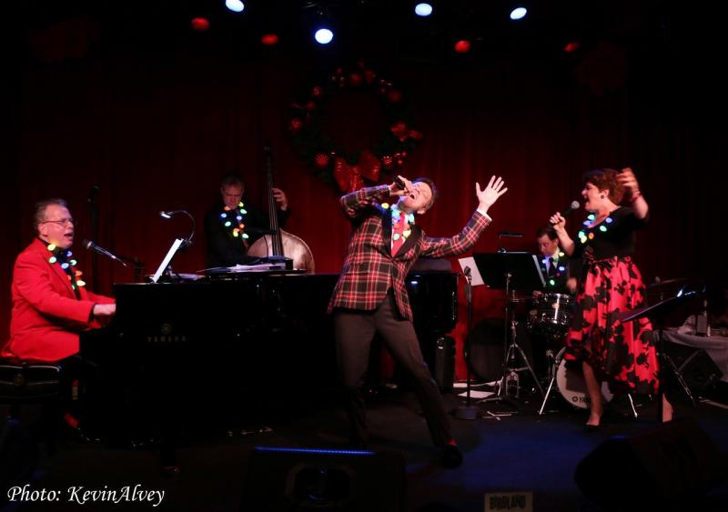 BWW Interview: Klea Blackhurst, Jim Caruso And Billy Stritch of A SWINGING BIRDLAND CHRISTMAS at Birdland