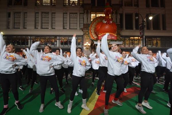 Photo Coverage: AIN'T TOO PROUD, BEETLEJUICE, and More Rehearse For the 2019 Macy's Thanksgiving Day Parade