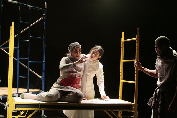 Emily Fury Daly, Lisa Birnbaum and Tommie J. Moore in Karen Malpede''s Other Than We  Photo