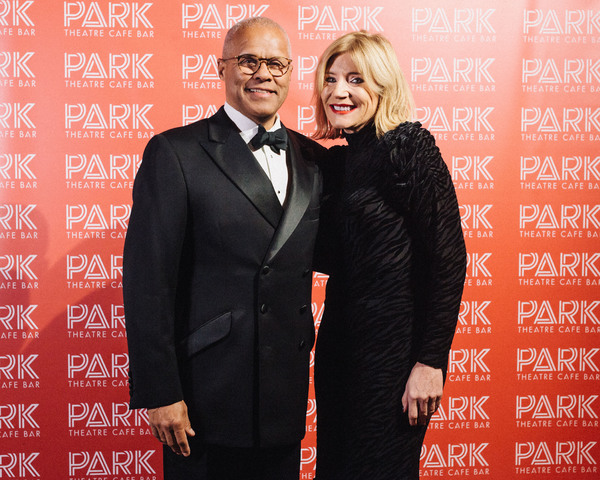 Gary Wilmott MBE, Michelle Collins Photo