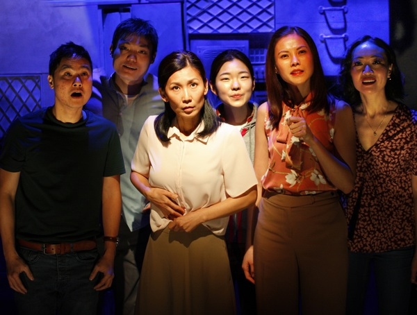 Photo Flash: First Look at Production Photos of WILD GOOSE DREAMS at the Ustinov Studio
