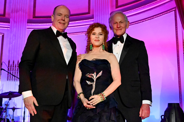 Photo Flash:  Bernadette Peters Honored at Star-Studded 2019 Princess Grace Awards Gala