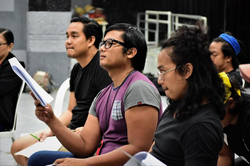 PHOTOS: Exclusive Look Inside Rehearsals for LAM-ANG: AN ETHNO-EPIC MUSICAL