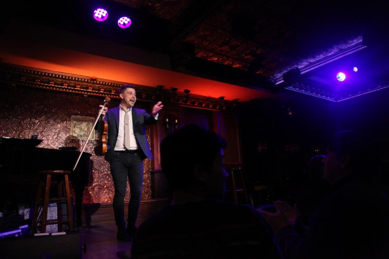 BWW Review: Edmund Bagnell Hits a Sweet Note in HE PLAYS THE VIOLIN at 54 Below