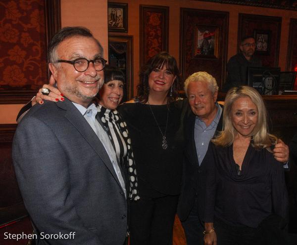 Richard Frankel, Susan Claassen, Ann Hampton Callaway, Stephen Sorokoff, Eda Sorokoff Photo