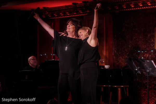 Photo Coverage: BROADWAY THE CALLA-WAY With Liz Callaway & Ann Hampton Callaway At Feinstein's/54 Below