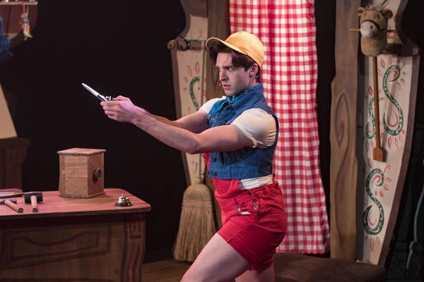 JARED THOMPSON as Pinocchio Photo