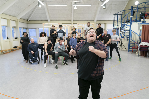 Photo Flash: Inside Rehearsal For GUYS AND DOLLS at Sheffield Theatres