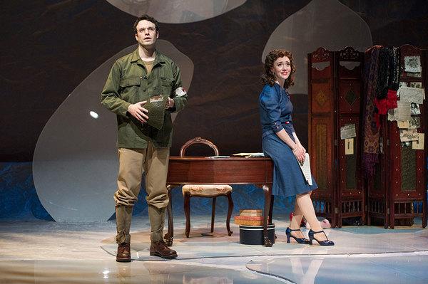 Jake Epstein and Amelia Pedlow Photo