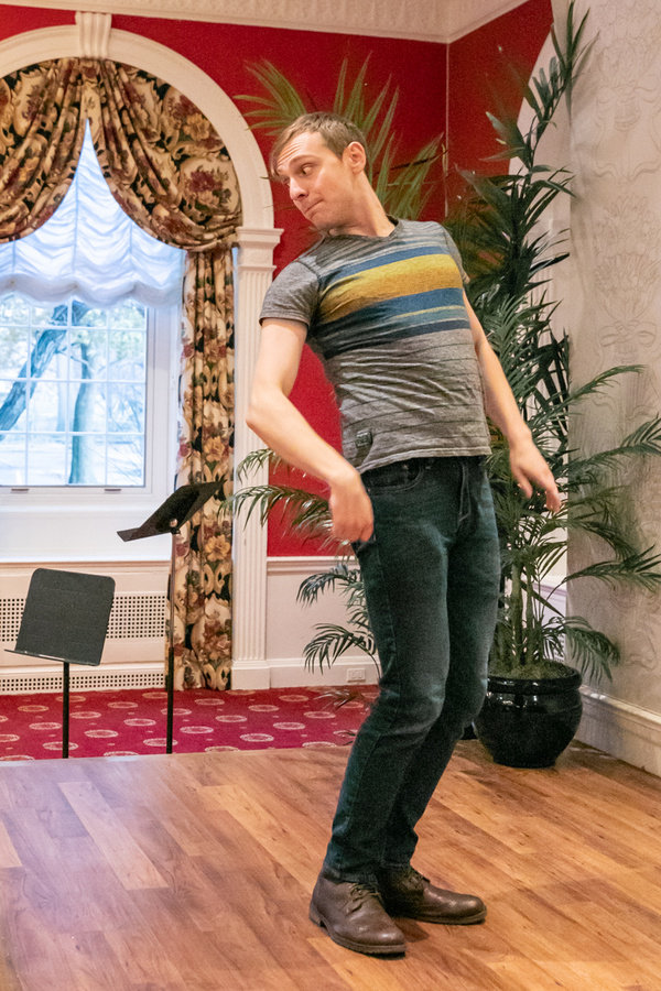Photo Flash: In Rehearsal With IT'S A WONDERFUL LIFE At Theatre In The Circle