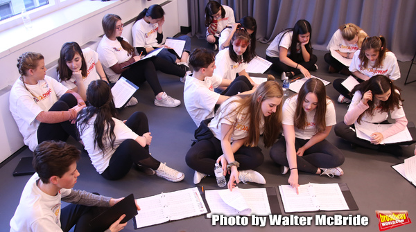 Photo Coverage: In Rehearsal with The Camp Broadway Kids Ensemble in Radio City's Sounds of Christmas