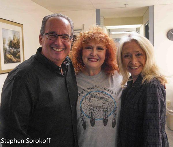 Craig Neier, Melissa Manchester, Eda Sorokoff Photo
