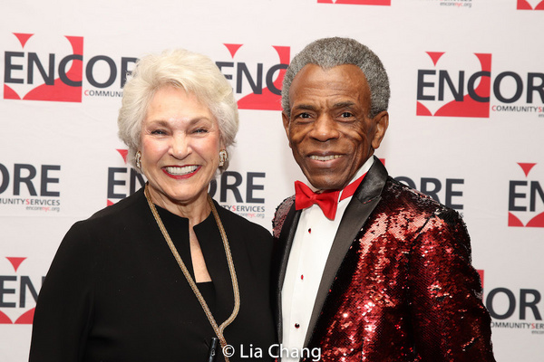 Marta Sanders and Andre De Shields