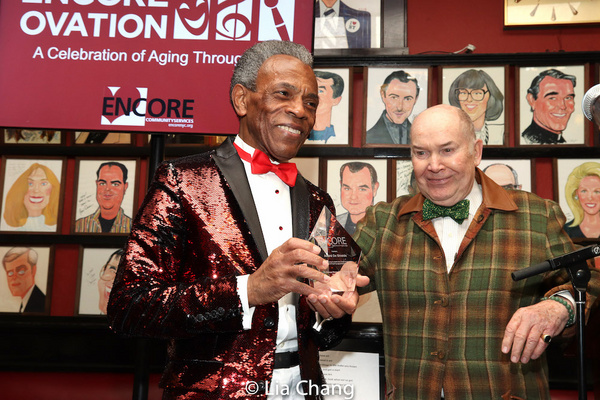 Photos: Andre De Shields, Philip Pearlstein, and Sandra DiPasqua Receive 2019 Father George Moore Artistic Impact Awards