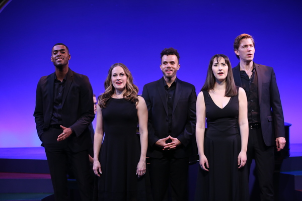 Photo Flash: First Look at ANYTHING CAN HAPPEN IN THEATER: THE MUSICAL WORLD OF MAURY YESTON at the York Theatre Company