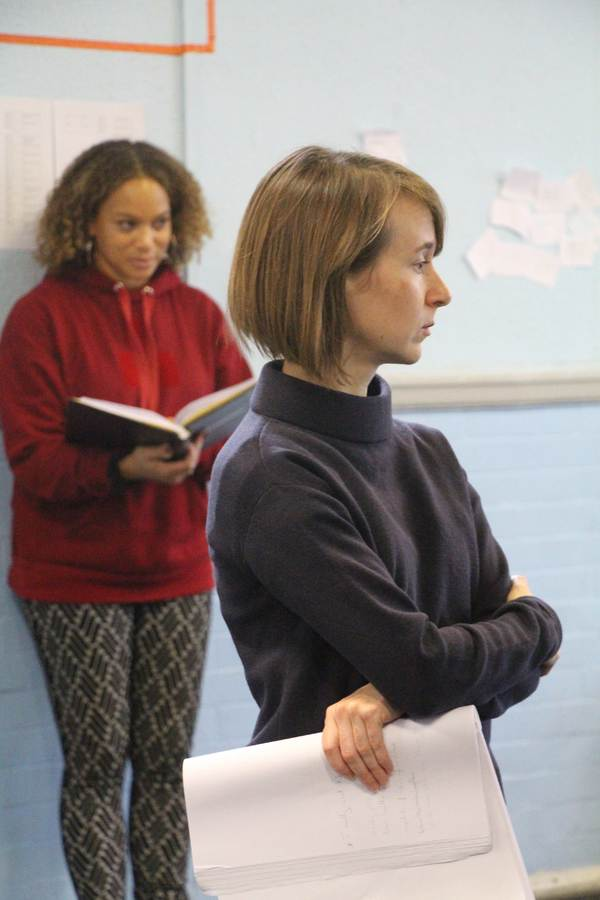 Photo Flash: In Rehearsal For THE TYLER SISTERS at Hampstead Theatre