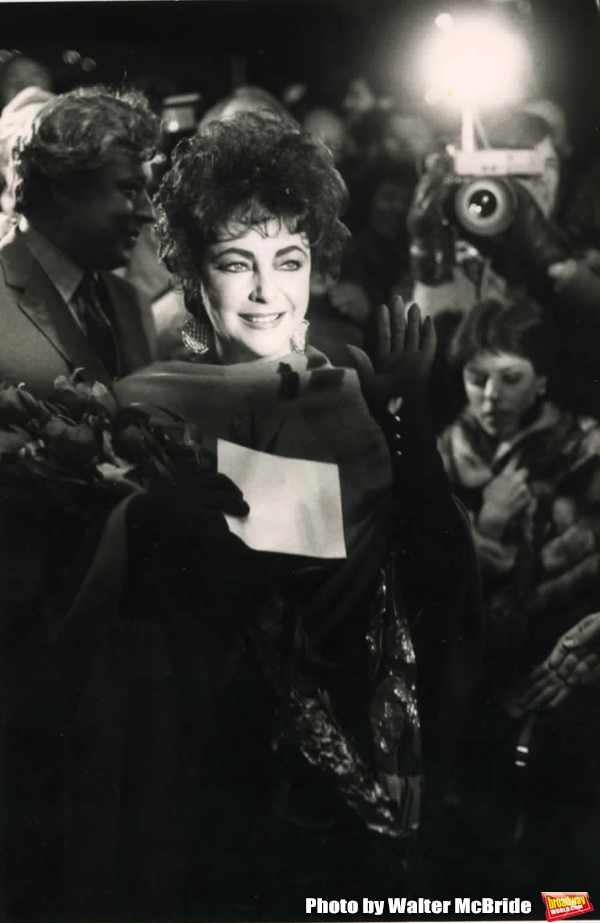 Elizabeth Taylor 'The Mirror Cracked' Premiere at The Ziegfield Theatre, Photo