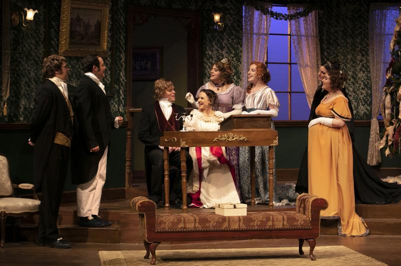 BWW Review: MISS BENNET: CHRISTMAS AT PEMBERLEY at the Ottawa Little Theatre is a Cozy Christmas Comedy
