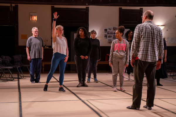 Photo Flash: In Rehearsal With DANCE NATION At Steppenwolf