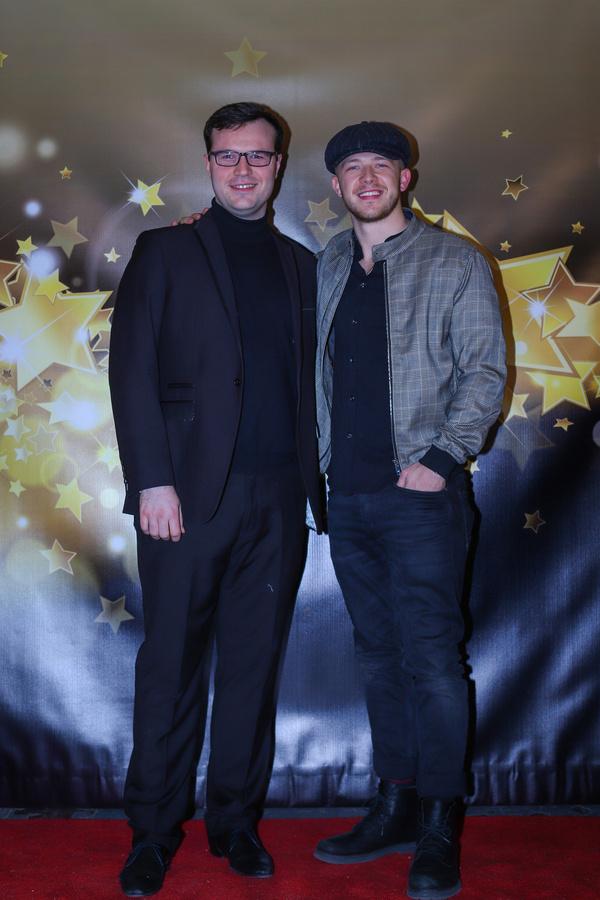 Cameron Richardson-Eames and Kevin Csolak