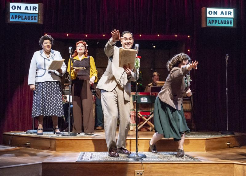 BWW Review: THE BISHOP'S WIFE: A LIVE RADIO PLAY at Taproot Theatre Is a Perfect Blend of Freshness and Nostalgia