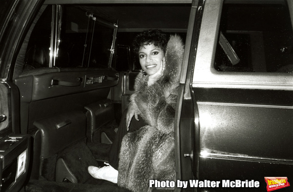 """Debbie Allen leaving the Imperial Theatre after catching a performance of """"Dreamgirls Photo"""