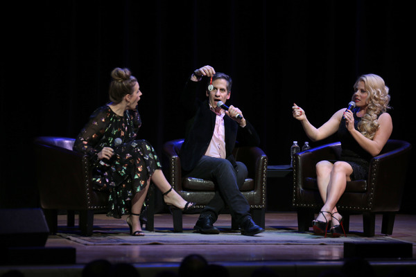 Jessie Mueller, Seth Rudetsky, Megan Hilty Photo