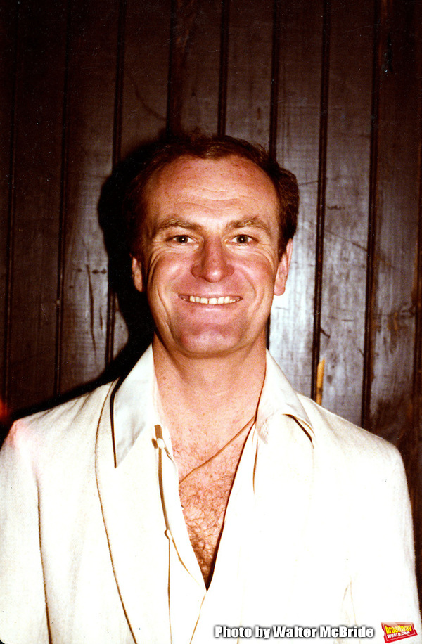 Peter Allen backstage at the Biltmore Theatre in 1979 Photo