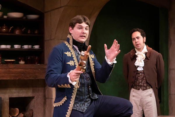 Photo Flash: First Look at THE WICKHAMS: CHRISTMAS AT PEMBERLEY at Capital Stage