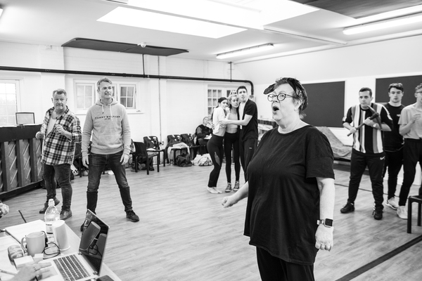 Photo Flash: Inside Rehearsal For SNOW WHITE at Richmond Theatre