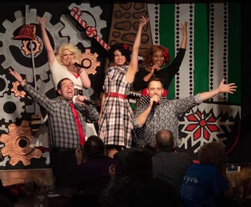 BWW Review: IS JACK FROST NIPPING AT YOUR HOSE? OR..CHRISTMAS AT THE FIRESHOUSE! at Mosley Street Melodrama