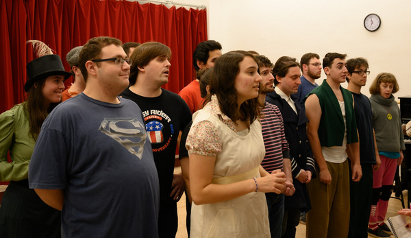 Photo Flash: EPIC Players Inclusion Company In Rehearsal For PETER AND THE STARCATCHER