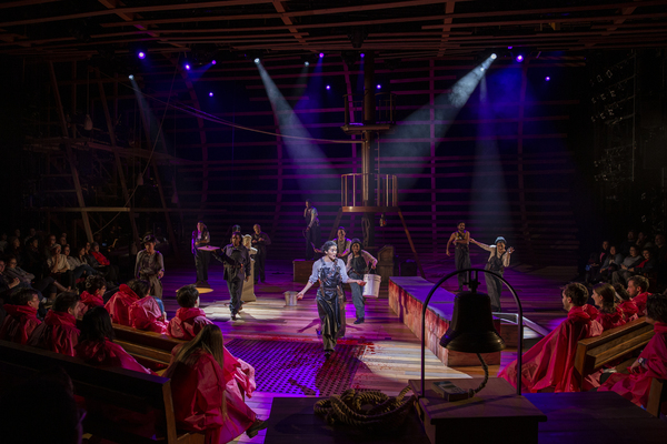 Photo Flash: Dave Malloy's MOBY-DICK Sets Sail At American Repertory Theater