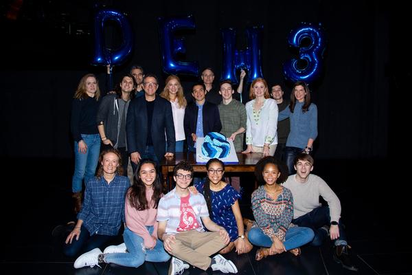 Photo Coverage: DEAR EVAN HANSEN Celebrates Three Years On Broadway!