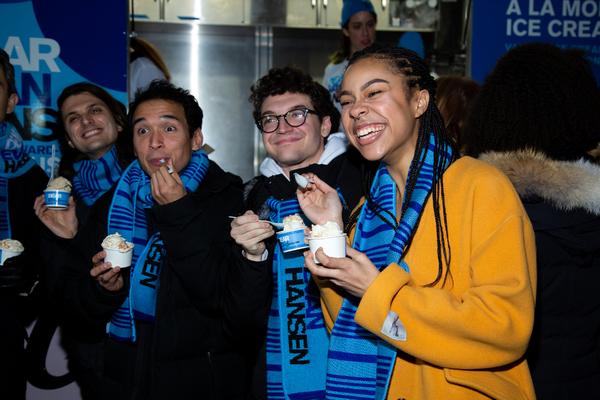 Alex Boniello, Zachary Noah Piser, Jared Goldsmith, Phoebe Koyabe Photo