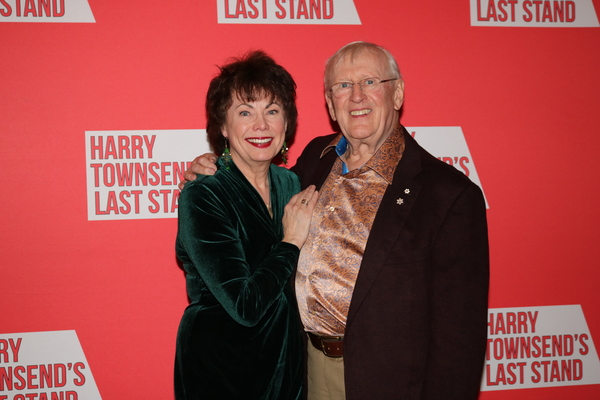 Heather Summerhayes and Len Cariou