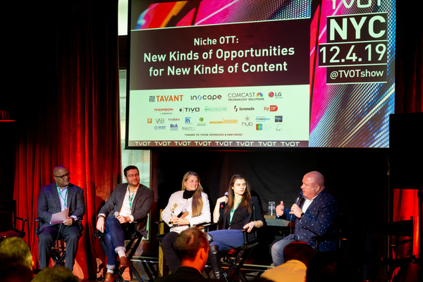 Photo Flash: Bonnie Comley of BroadwayHD Speaks on TV of Tomorrow Panel